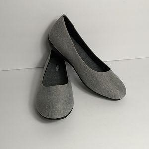Baubax Comfortable Dressy Flats Gray